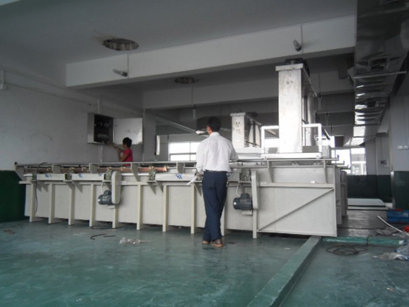 Difference manual automatic plating production line
