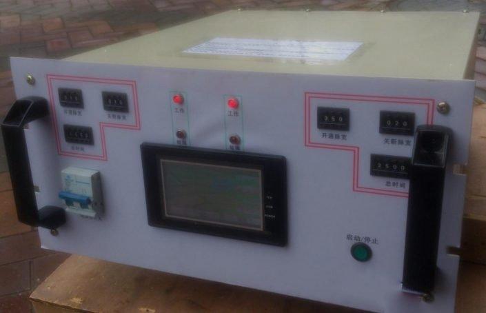 Single pulse plating power supply